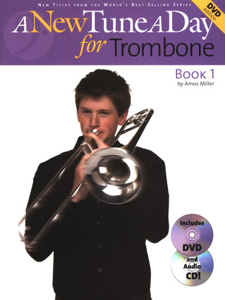 Miller Amos: A New Tune A Day For Trombone Dvd Edition Tbn Bk / Cd / Dvd