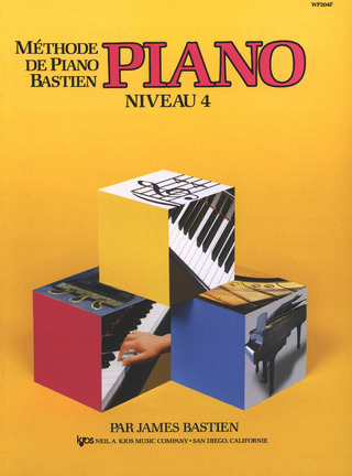 James Bastien: Méthode de piano Bastien 4