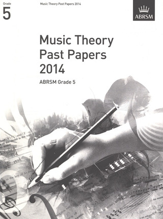 Music Theory Past Papers (2014)