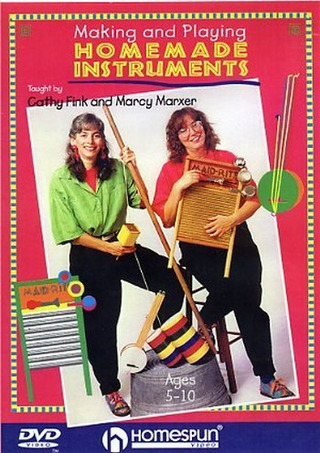 Marxer Marcy + Fink Cathy: Marcy Marxer / Cathy Fink Making And Playing Household Instruments Dvd