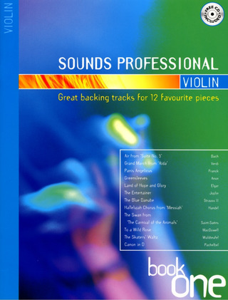 Sounds professional - Violin Book 1