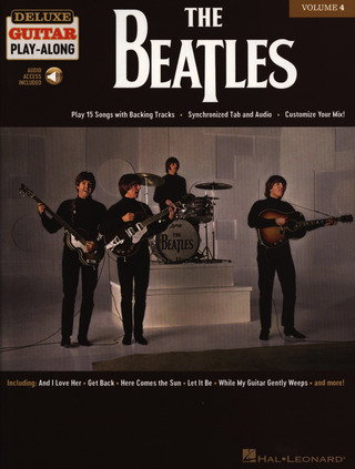 Deluxe Guitar Play-Along 4: The Beatles