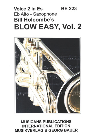 Bill Holcombe: Blow Easy 2