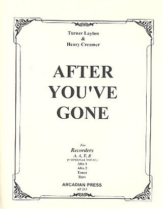 Turner Layton: After You've Gone