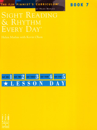 Helen Marlais et al.: Sight Reading & Rhythm Every Day 7