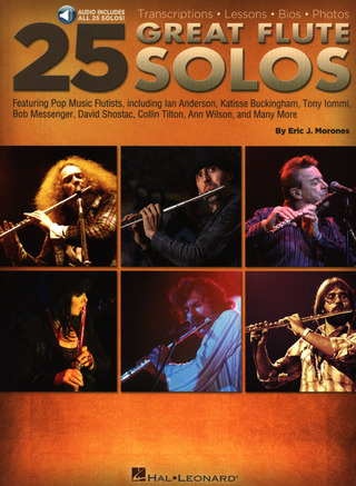 Eric J. Morones: 25 Great Flute Solos