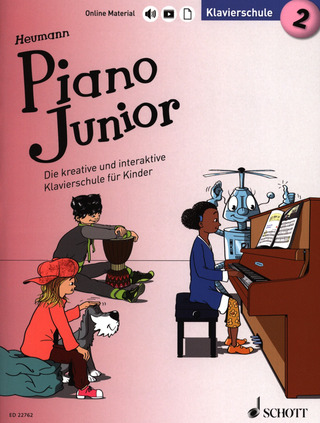 Hans-Günter Heumann: Piano Junior – Klavierschule 2