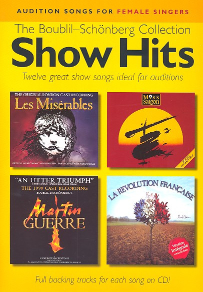 Claude-Michel Schönberg: Audition Songs For Female Singers Show Hits - The Boublil-Schonberg C