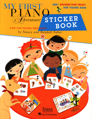 Nancy Faber et al.: My First Piano Adventure Sticker Book