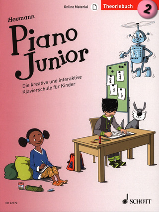 Hans-Günter Heumann: Piano Junior – Theoriebuch 2