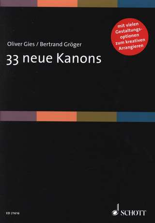 Oliver Gies y otros.: 33 neue Kanons