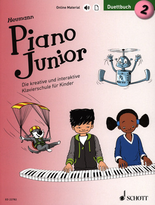 Hans-Günter Heumann: Piano Junior – Duettbuch 2