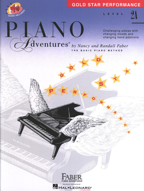 Randall Faber et al.: Piano Adventures 2A – Gold Star Performance