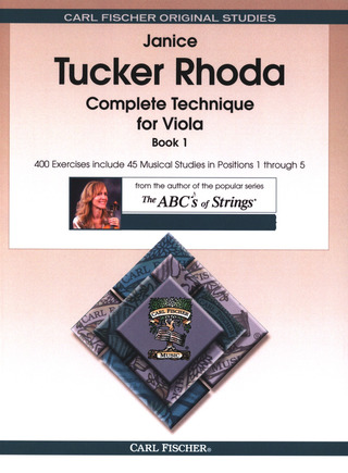 Janice Tucker Rhoda: Complete Technique for Viola