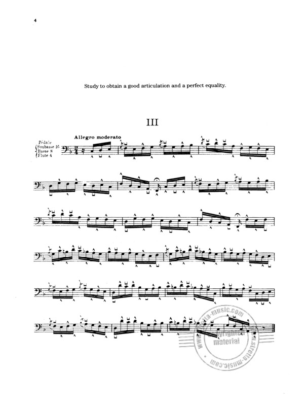 Flor Peeters: 10 Studies for Pedal Playing (2)