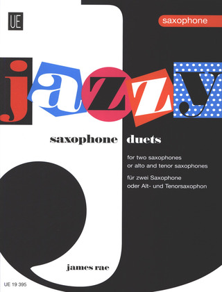 James Rae: Jazzy Duets for Saxophones für 2 Saxophone