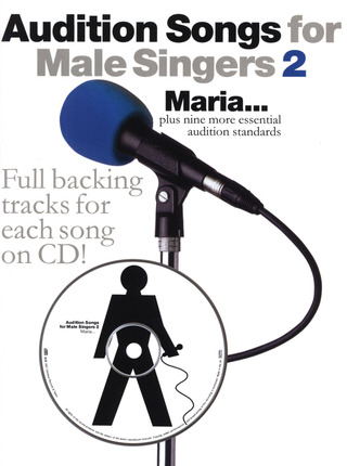 Audition Songs For Male Singers 2 Pvg Book/Cd
