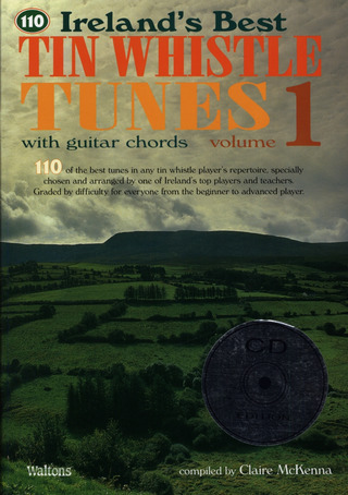 110 Ireland's Best Tin Whistle Tunes With Guitar Chords
