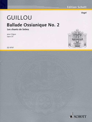Jean Guillou: Ballade Ossianique No. 2 op. 23 (1971)