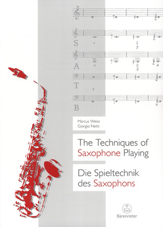Giorgio Netti y otros.: The Techniques of Saxophone Playing