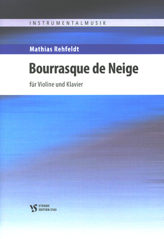 Mathias Rehfeldt: Bourrasque de Neige