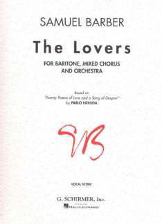 Samuel Barber: The Lovers Op 43