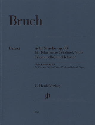 Max Bruch: Eight Pieces op. 83