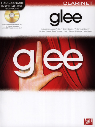 Hal Leonard Instrumental Play-Along: Glee – Clarinet