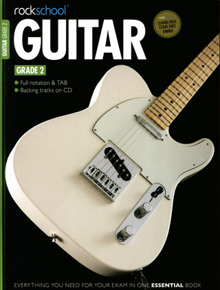 Rockschool Guitar - Grade 2 (2012-2018)
