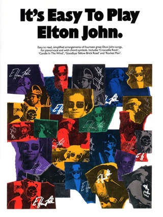 Elton John: John E Its Easy To Play Pvg