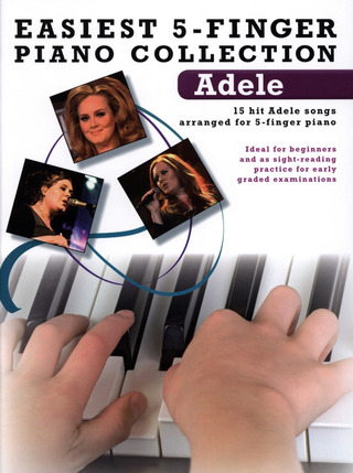 Adele Adkins: Easiest 5-Finger Piano Collection: Adele