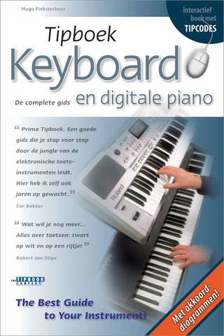 Hugo Pinksterboer: Tipboek – Keyboard en Digitale Piano