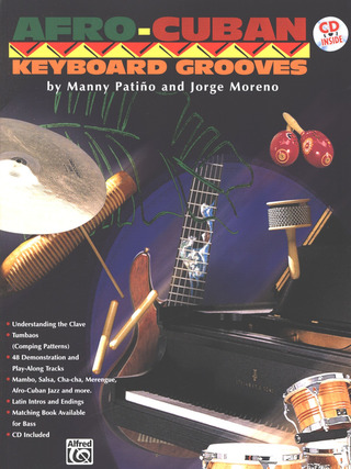 Patino Manny + Moreno Jorge: Afro Cuban Keyboard Grooves