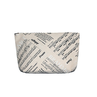 Makeup Bag/Clutch Large Sonata Design