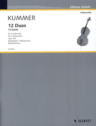 Friedrich August Kummer: 12 Duos op. 105
