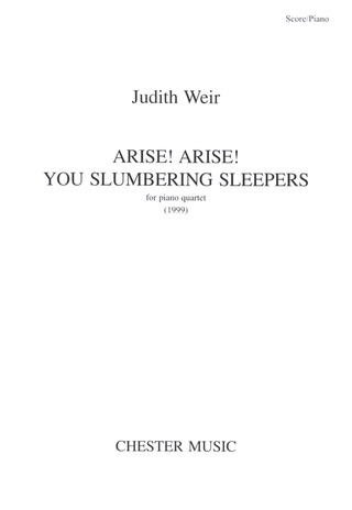Judith Weir: Arise! Arise! You Slumbering Sleepers