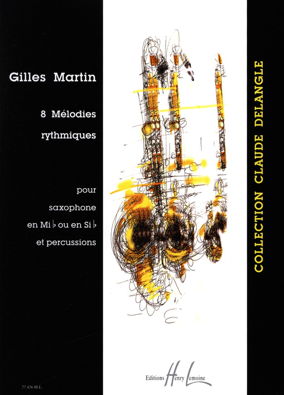 8 Melodies Rhythmiques from Gilles Martin | buy now in