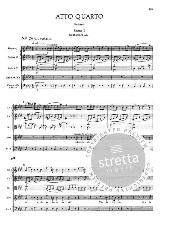 Le Nozze di Figaro KV 492 (1785-86) von Wolfgang Amadeus