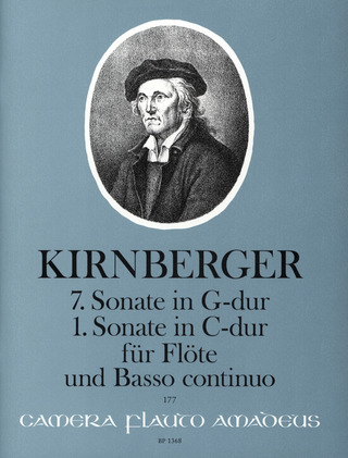 Johann Philipp Kirnberger: 7. Sonate in G-Dur - 1. Sonate in C-Dur