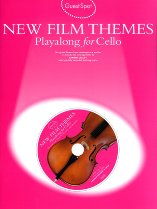 Guest Spot New Film Themes Playalong For Cello Bk/Cd