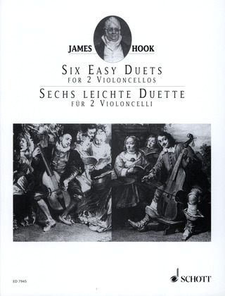 James Hook: 6 leichte Duette op. 58