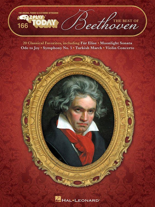 Ludwig van Beethoven: E-Z Play Today 166: The Best of Beethoven
