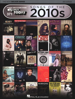 E-Z Play Today 371: Songs Of The 2010s The New Decade Series