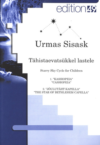 Urmas Sisask: Starry Sky Cycle for Children
