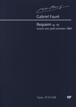 Gabriel Fauré: My faithful shepherd is the Lord BWV 112