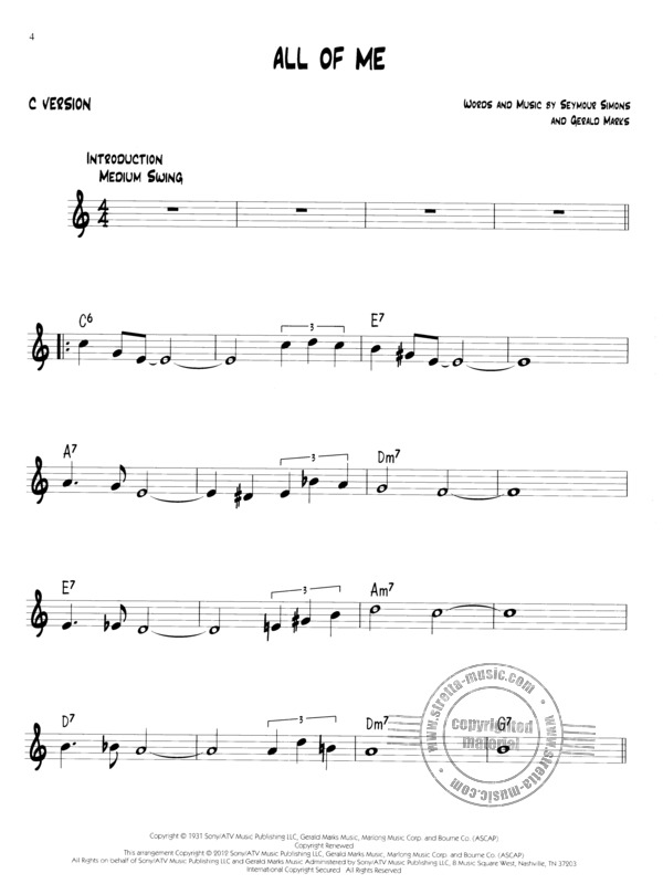 Easy Jazz Play-Along Volume 1: First Jazz Songs (1)