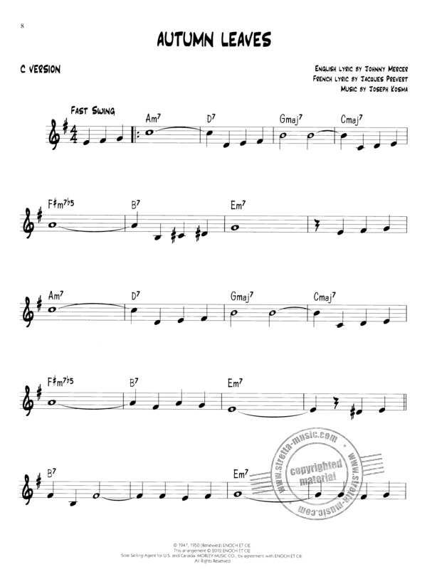 Easy Jazz Play-Along Volume 1: First Jazz Songs (2)