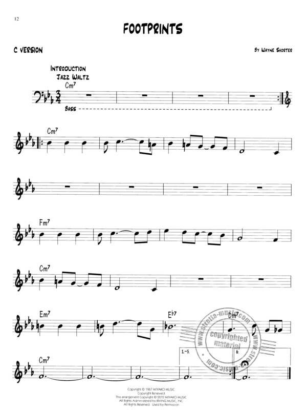 Easy Jazz Play-Along Volume 1: First Jazz Songs (3)