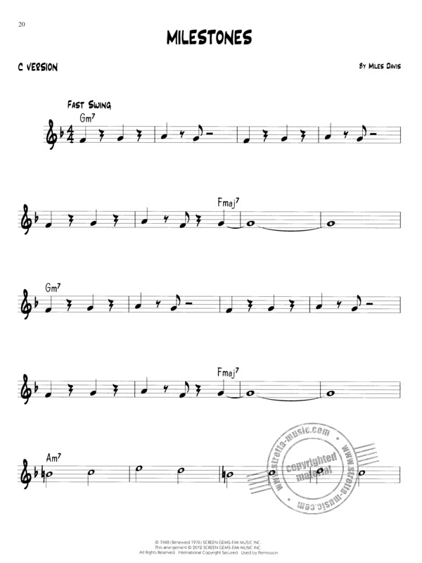 Easy Jazz Play-Along Volume 1: First Jazz Songs (4)