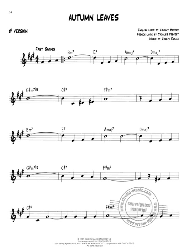 Easy Jazz Play-Along Volume 1: First Jazz Songs (6)